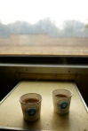 Masala Chai on the train to Jaipur.