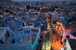 Jodhpur by night.